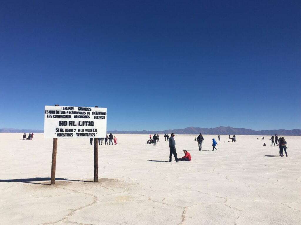 Lithium Worlds From Salta To Olaroz Chico Lithium As A Travel Companion